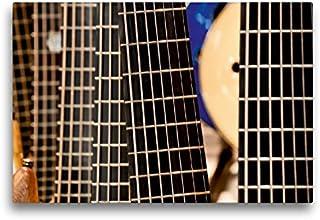 CALVENDO Premium Lienzo 45 cm x 30 cm Horizontal, Guitarra Imagen de la Pared, Imagen sobre Bastidor, Lienzo de auténtica Lienzo, impresión (calvento Arte), Arte