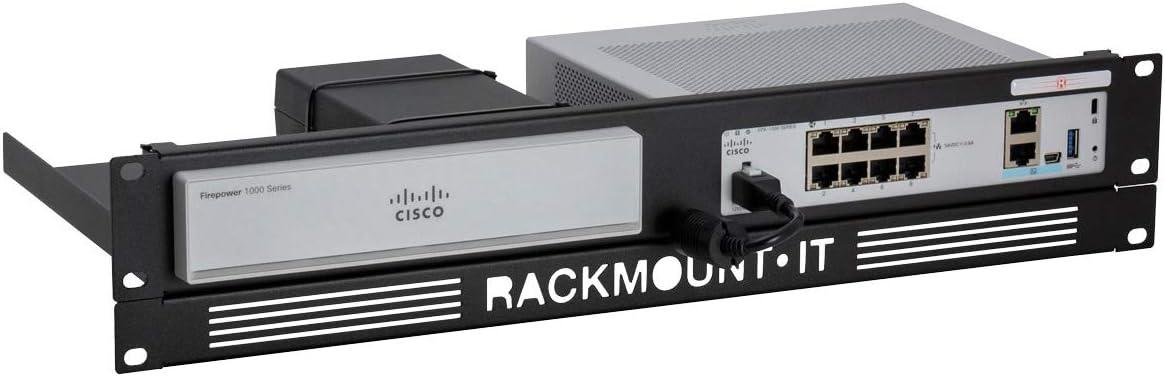 R RACKMOUNT·IT   RM-CI-T8   Rack Mounting Kit for Cisco Firepower 1010 / ASA 5506-X