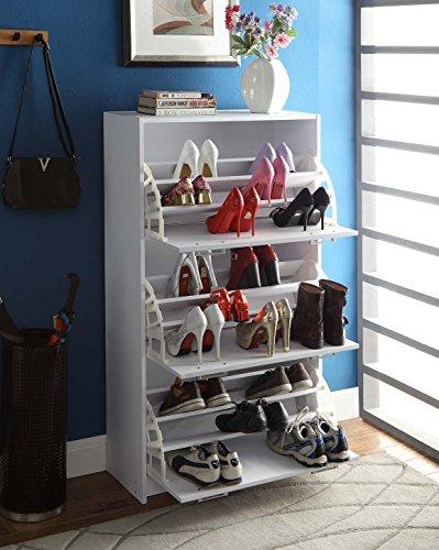 4D Concepts Deluxe Triple Shoe Cabinet