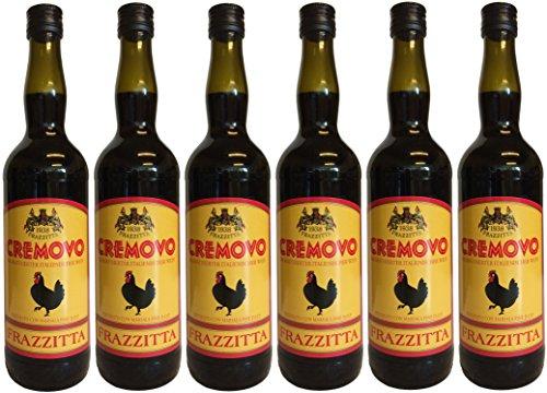 Marsala Cremovo FRAZZITTA (6 X 0,75 L) - Vino Aromatizzato all´Uovo - Aromatisierter Wein mit Ei 14,9% Vol. aus Italien