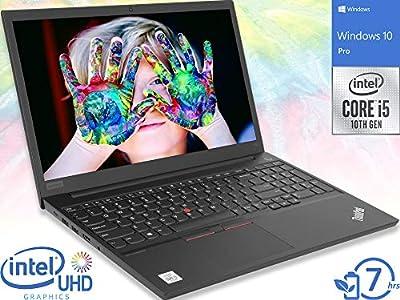 "Lenovo ThinkPad E15 Laptop, 15.6"" FHD Display, Intel Core i5-10210U, HDMI, Wi-Fi, Bluetooth, Windows 10 Pro"