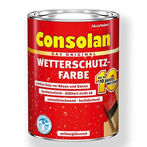Consolan Wetterschutz-Farbe (750 ml, weiss)