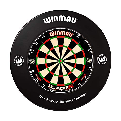 WINMAU Printed Black Dartscheibe Surround