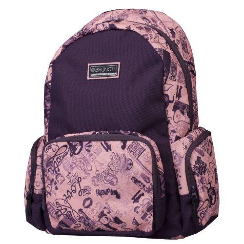 Brunotti Rucksack Backpack Basic Sommer 2013 in 8 Farben, Farbe:Doodles Pink