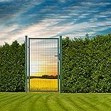 DEMA Gartentüre 100x160 cm Moosgrün