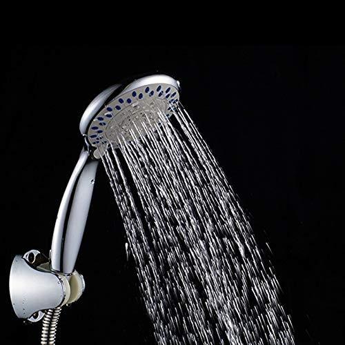WEI-LUONG Alcachofa 3 función ABS Jefe de rociadores Cromado de Ahorro de Agua Cabezal de Ducha Gel de sílice Salida de la Ducha del Cuarto de baño Accesorios Principales Ducha