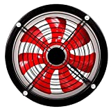 XLEVE Inline Duct Booster Fan 10 Inch Low Noise Exhaust Blower for Air Circulation in Ducting, Vents,...