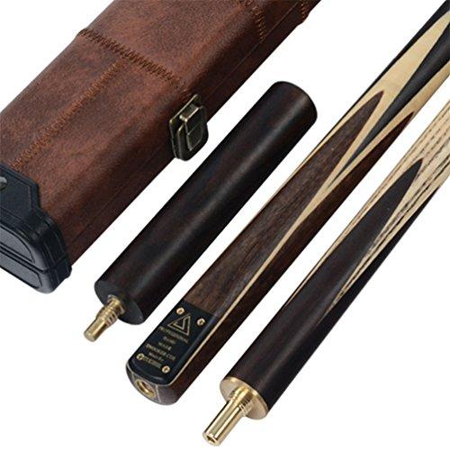 CUESOUL Klassische Handgemachte 57 Zoll Palisander 3/4 Stück Snooker Queue + Köcher und Extension (CSSC009)