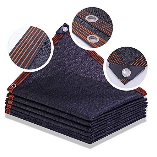 KKCF Sunblock Shade Cloth, Black Sunscreen Patio Sun Room Polyethylene 95% Rate Anti-Uv Breathable Windproof And Dustproof,Size Customizable (Color : Black, Size : 2x3m)