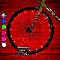 Activ Life Luces LED bicis (Set de 2 Rojo). Ideas para Regalo de cumpleaños y de Navidad. Oferta destacada de Black Friday y Cyber Monday para él o Ella, Hombres, Mujeres, niños o Adolescentes.