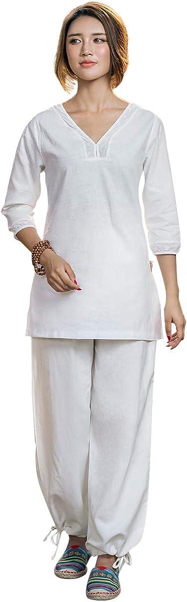 KSUA Womens Martial Arts Uniform Kung Choice Tai Cotton Chi [Alternative dealer] Fu Clothes