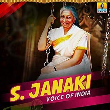 S. Janaki Voice of India