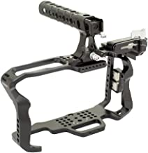 Proaim CNC Aluminum Cage with top Handle for Blackmagic Pocket Cinema Camera 4K (CG-BMPCC-4K-01) Mount Bracket for SSD Sam...