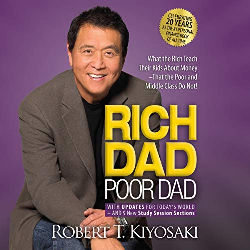Rich Dad Poor Dad: 20th Anniversary Edition audiobook cover art
