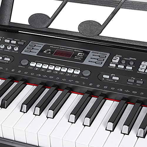 Instrumento musical, instrumento musical electrónico para principiantes simple y ligero para el hogar para el dormitorio
