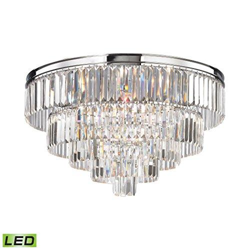 Elk Lighting 15216/6-LED Palacial 6 Light LED Polished Chrome Chandelier