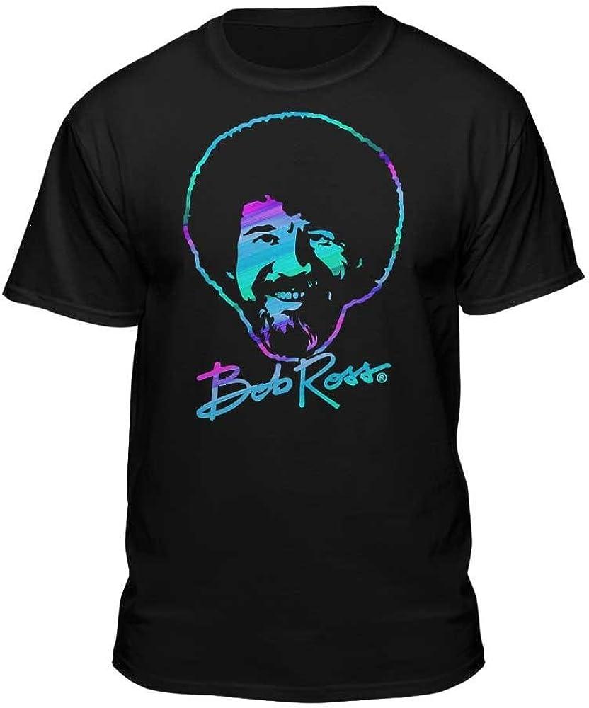 Finally resale start Max 48% OFF Bob Ross Retro Licensed T-Shirt Fill