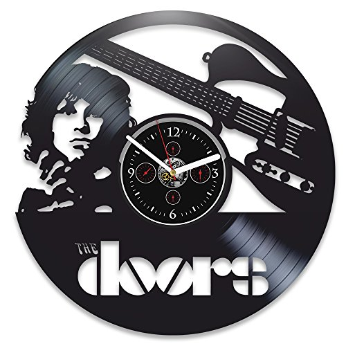 Clock The Doors Vinyl Wall Jim Morrison Record The Doors Jim Morrison Vinyl Wall Gift for Man Jim Morrison Gift Vinyl Record Wall The Doors Gift for Dad