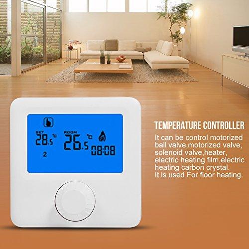 Controlador de temperatura, termostato de calefacción Termo