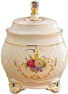 Conteneur de Bocal de Stockage Conteneurs de Stockage des Aliments hermétiques avec couvercles Grands Pots à café en céram...