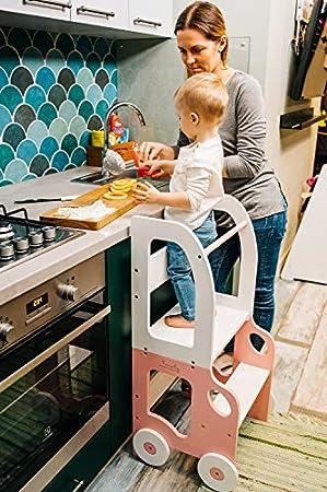 Montessori Lernturm von Toddlerinfamily