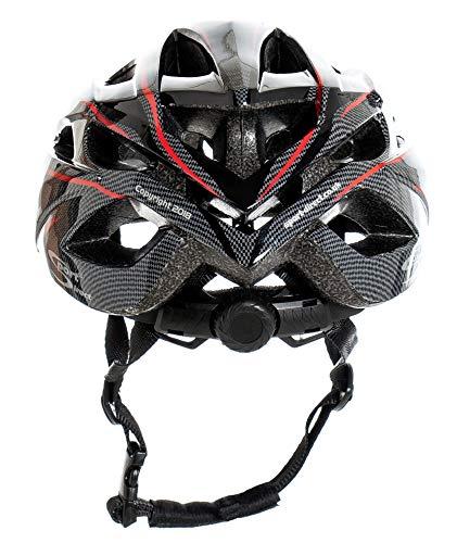 Sport Direct™ Herren Fahrradhelm Team Comp 24 Vent Graphit 58-61 cm CE EN1078:2012+A1:2012 - 6