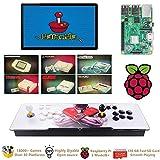 TAPDRA Raspberry Pi 3 Model B+ (B Plus) Arcade Cabinet Machine Video Game Console Complete Full Kit RetroPie...