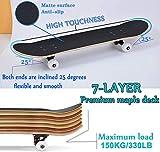 Zoom IMG-2 yudoxn skateboard completo per principianti
