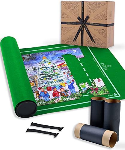 Tapete Puzzle | Tapete Puzzle 1500 Piezas | Puzzle Conserver | Accesorio Rompecabezas | Jaques de Londres