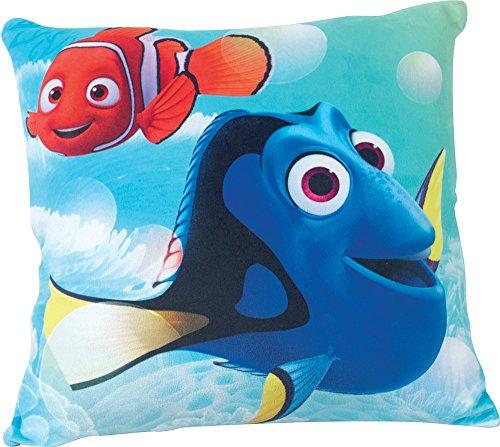 Fun House 712599 Disney Dory Coussin pour Enfant Carré Poly Coton Bleu 35 x 14 x 35 cm