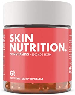 Sponsored Ad - Genesis Today - Skin Nutrition Vitamin E, Coconut & Argan Oil Supplement Promotes Healthy Skin with 2,500mc...