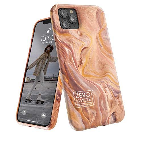 Wilma Biodegradabile Compatibile con iPhone 11 Pro Custodia, Zero Rifiuti, Custodia Protezione Totale, Eco-Friendly, Stop Inquinamento di Plastica, Plastic Free, Canyon