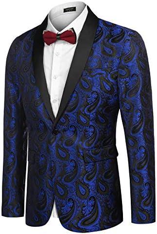 Royal blue mens suit _image1