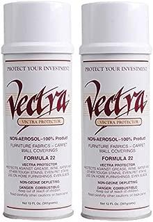 Vectra Furniture, Carpet, Fabric Protector Spray- 2, 12 oz Spray Cans
