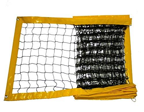 RomiSport Beach Volleyball Netz Beachvolleyball 8,5m oder 9,5m, DREI Farben, Produzent (Blau, 8,5 m)