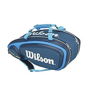 51OQX33Nx3L. SS300  - Wilson Tour V 9 Pack BK - Bolsa, Talla única
