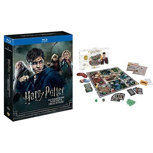 Harry Potter Collection (Standard Edition) (8 Blu-Ray) + Winning Moves Gioco da Tavolo-Cluedo Harry Potter Edizione da Collezione, WM00100-ITA-6