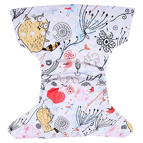 Atyhao Schwimmwindeln, verstellbare waschbare Säugling Schwimmwindel Babyschwimmwindeln für Baby Jungen Mädchen Dusche Geschenk(BL017)