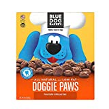 Blue Dog Bakery Natural Dog Treats, Doggie Paws, Original, Peanut Butter & Molasses Flavor