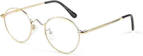 Cyxus Blue Light Blocking Glasses UV Filter Retro Round Metal Frame Glasses Computer Reading Gaming Eyewear For Women...