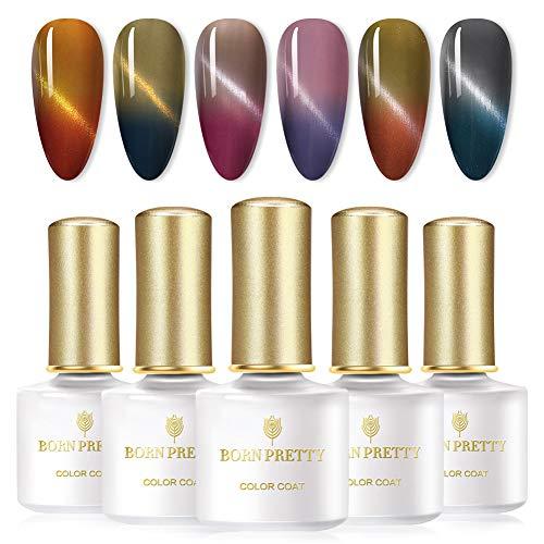 Color changing gel nail polish, Mood changing gel nail polish
