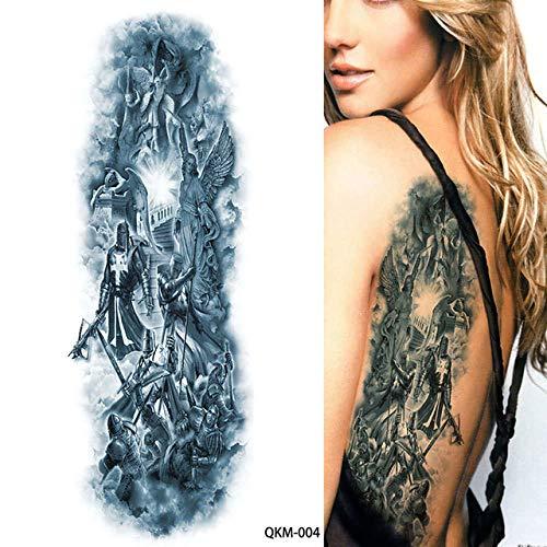 7pcs Pieza tatuaje etiqueta engomada del tatuaje de la Luna Llena del brazo del tatuaje del tatuaje de la Virgen