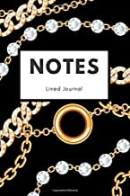 Notes: Chain Jewelry Lined Notebook