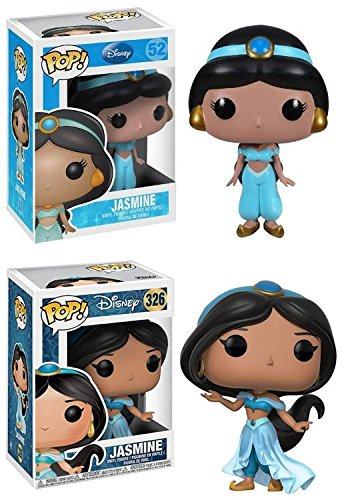 Funko POP!: Disney: Aladdin: Jasmine + Jasmine