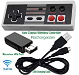 Rechargeable NES Classic Mini Wireless Controller -TURBO EDITION-Rapid...