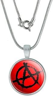 Anarchy Symbol Red 0.75