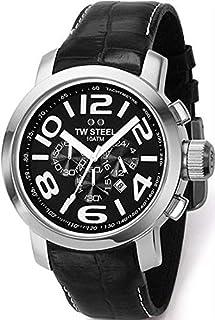 تي دبليو ستيل ساعة يد رجاليه بسوار ستانلس ستيل، Tw50D