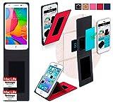 Hülle für UMi eMax mini Tasche Cover Hülle Bumper | Rot | Testsieger