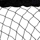 Bird Netting 25'x50' Heavy Duty Nylon Netting for Bird, Poultry,Deer and Other Pests, 1'' Square Mesh Garden Netting to Protect Fruit Trees, Plants and Vegetables (25'×50'-1'')
