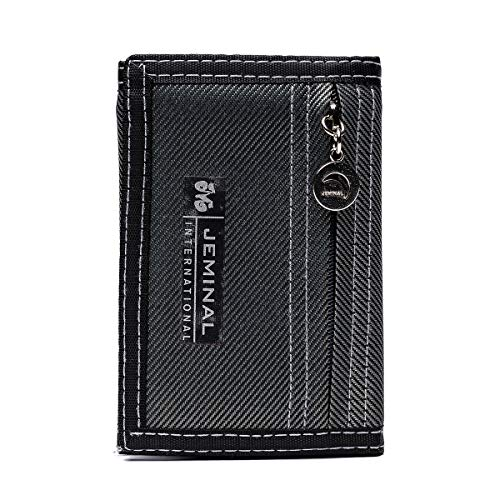 Short Wallet for Men, OURBAG Slim Trifold Bifold Wallet with...